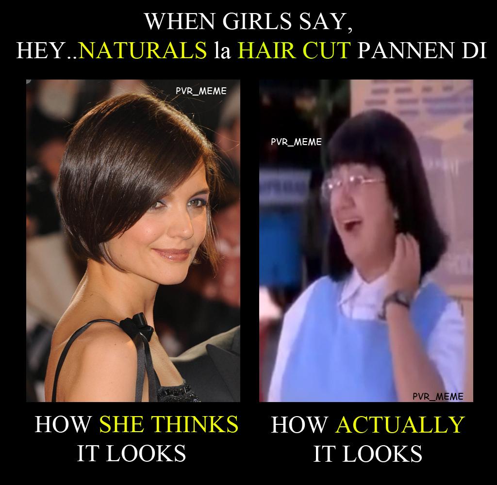 "Haircut Girl Meme: Meme – 25 – Girls Haircut In ""NATURALS"""